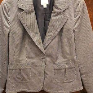 Pin stripped blazer